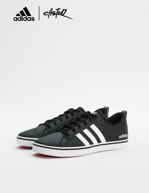 נעלי Adidas שחורות ופסים לבנים / גברים