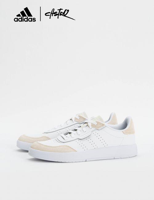 נעלי Adidas לבנות וזמש / גברים