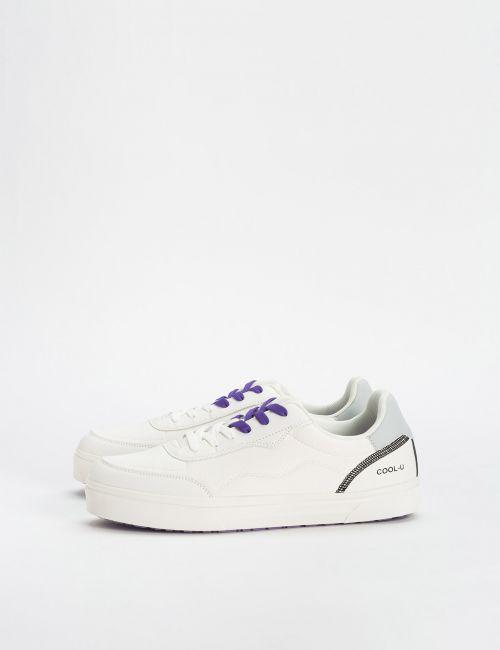נעלי סניקרס שרוכים משולבים