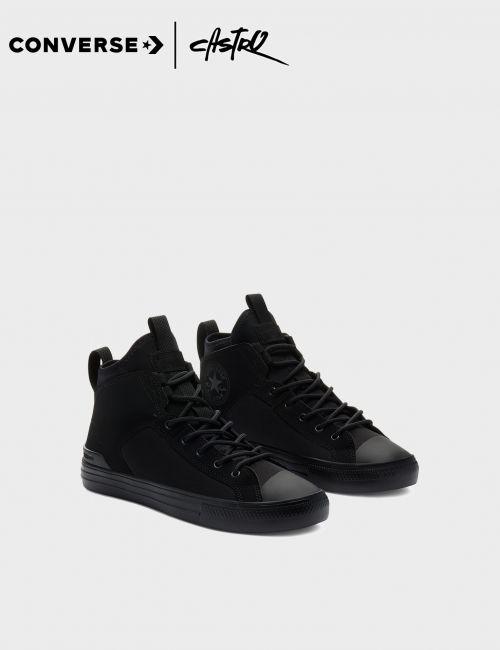 נעלי Converse גבוהות שחורות / גברים