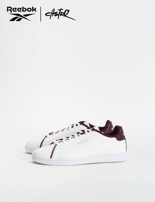 נעלי Reebok לבנות ובורדו / גברים