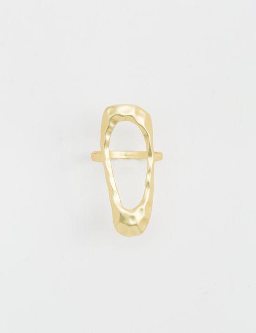 טבעת רחבה רקועה