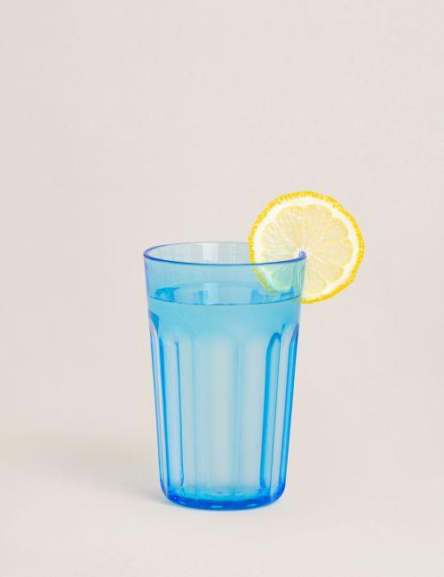 """כוס אקריליק FLOWER בגודל 350 מ""""ל"""