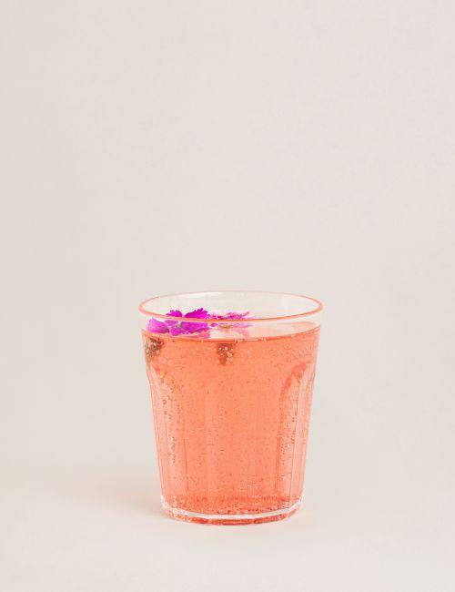 """כוס אקריליק FLOWER בגודל 300 מ""""ל"""
