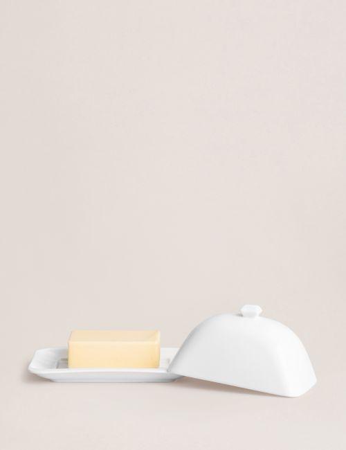 כלי לחמאה PURE WHITE