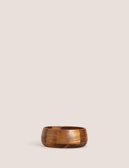 קערת סלט מעץ השיטה / גדולה