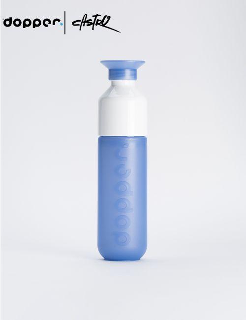 בקבוק שתיה DOOPER רב פעמי 450 מל בצבע כחול