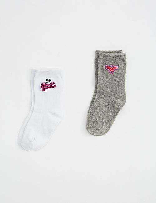 זוג גרביים וונדר וומן