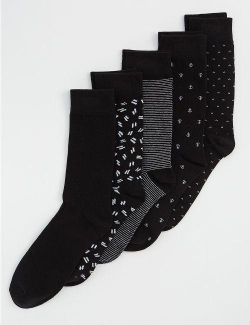 חמישיית גרביים ש/ל