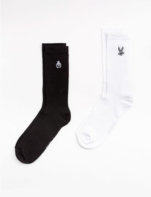 זוג גרביים ברקמת לוני טונס